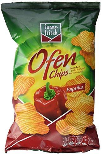 funny-frisch Ofen Chips Paprika, 10er Pack (10 x 150 g) (Chips Gebacken)