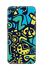 SWAGMYCASE Printed Back Cover for OPPO A71