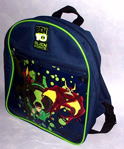 "Image of BEN 10 ALIEN FORCE - 12"" SCHOOL RUCKSACK / BACKPACK / BAG"