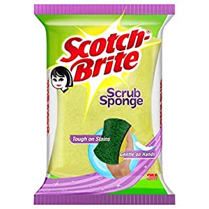 Scotch-Brite Scrub Sponge Small (1 Pc)