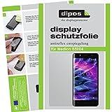 dipos I 2X Schutzfolie matt passend für Medion S5004 Folie Bildschirmschutzfolie