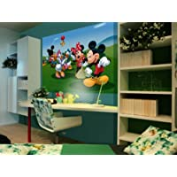 Diseño AG FTDNm5212 papel pintado para pared-partes para pared fotomurales Disney Mickey Mouse