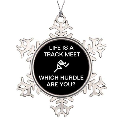 umdekoration Life is a Track met, personalisierbar ()