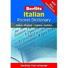 Berlitz Italian Pocket Dictionary: Italian-English/English-Italian (Berlitz Pocket Dictionaries)