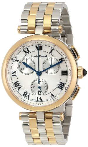 Louis Erard Romance 12820AB04.BMA28 36mm Stainless Steel Case Multicolor Metal Anti-Reflective Sapphire Women's Watch
