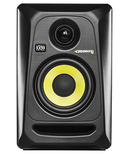 KRK ROKIT RP4 G3 aktiver Studio Monitor (Nahfeld Monitor, Lautsprecher Box, 2-Wege Bassreflex, 4
