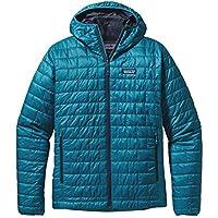 Patagonia Nano Puff–Cazadora con capucha chaqueta con capucha, hombre, Kapuzenjacke Nano Puff Hoody, Bleu - Underwater Blue, large