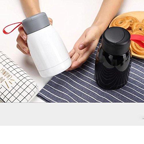 SCZLSYL Coupe isolée 304 en acier inoxydable 500 ml hot pot tasse étudiant 300 ml tasse pratique , 300ml