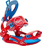 SP-United SP Private FT Snowboardbindung, Red/Blue, M