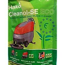 Hako 99730540Cleanol se Eco Cleaner, schiuma, altamente concentrato, 190,05fl. oz–verde (confezione da 90)