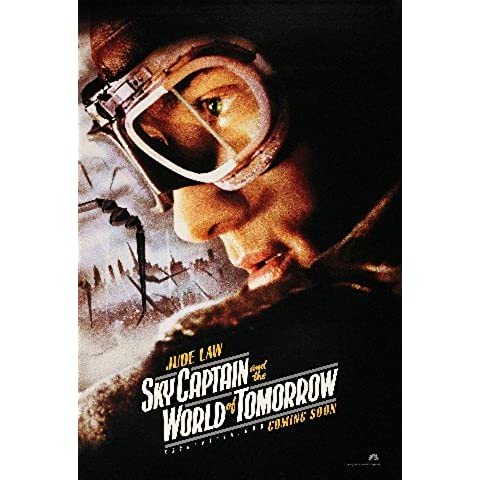 SKY CAPTAIN AND THE WORLD OF TOMORROW aktions-Reimpresión de 40 x 30 cm película Posters