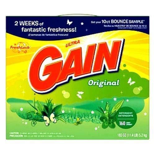 Gain Detergent Powder, 183-Ounce by GAIN - K2 Powder