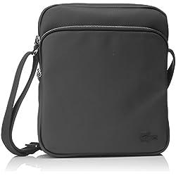 Lacoste Sac Homme Access Premium, Porté Épaule, Noir (Black), 26x6x22 cm (W x H x L)