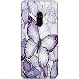 MSC Transparent Butterflies 3D Printed Designer Hard Back Case Cover For Xiaomi Mi Mix 2 / Mi Mix 2 / Mix 2(Multicolor)