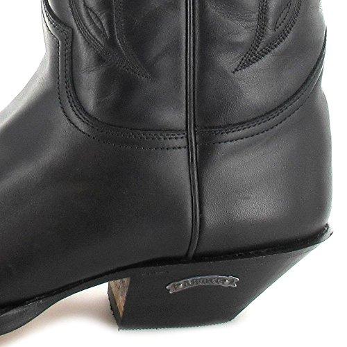 Sendra Boots  2073, Bottes et bottines cowboy mixte adulte Noir - Pull Negro