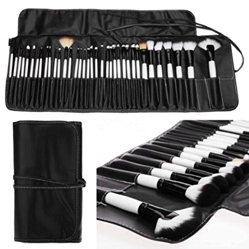 MuSheng(TM) Pinceaux + l'ombre de 36pcs professionnels cosmétiques maquillage la brosse douce sourcils kit + sac sac