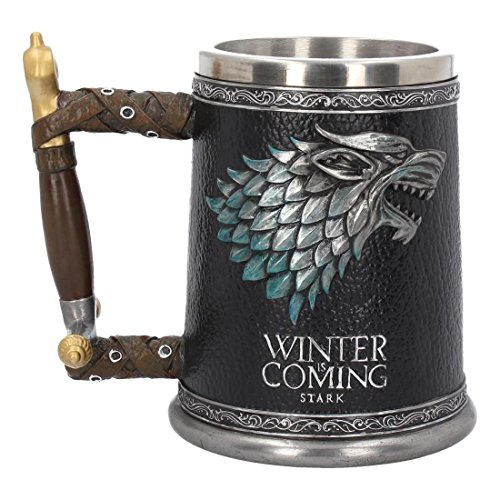 Game Of Thrones Jarra de Cerveza 3D Winter is Coming/Stark