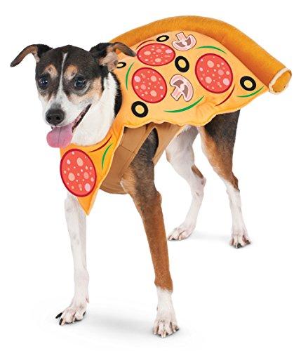 Rubies Costume Company Pizza Slice Pet Anzug (Rubies Costume Company)