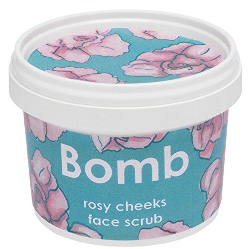 Bomb Cosmetics Gesichtspeeling ROSY CHEEKS mit Jasmin