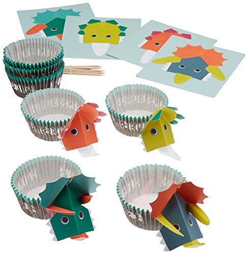 Roarrrr. dinosaurio Kit de Cupcake Fiesta