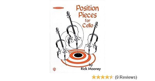 Position Pieces For Cello Amazon De Rick Mooney