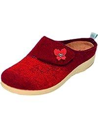 De-Angelwings - Zapatillas de casa Hombre , color Rosa, talla 42 EU