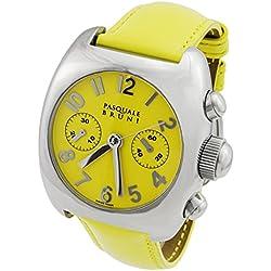 Pasquale Bruni Uomo Chronograph Edelstahl Swiss Made Automatik Herren-Armbanduhr 01mcagg