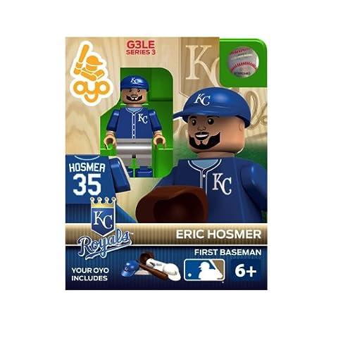 OYO Sportstoys MLB Eric Hosmer Kansas City Royals Minifigur (Kansas City Royals Miniatur)