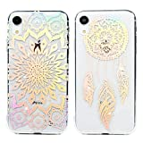 2x Coque pour iPhone XR 6.1 Pouces, Beaulife Etui Silicone IMD Technologie...