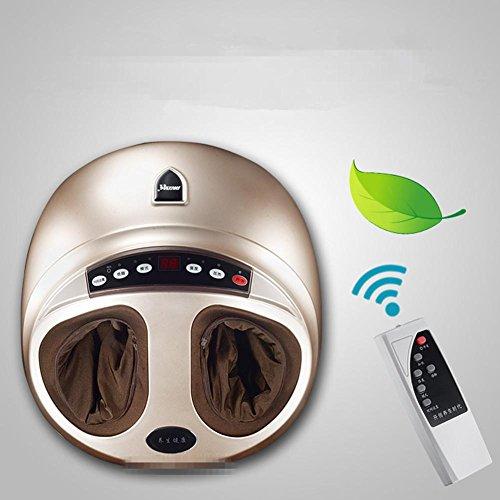 Preisvergleich Produktbild HHBO Fußtherapie Maschine Heizband umwickelt ganze Airbag 4D Kneten Massage Haushalt Intelligent Remote