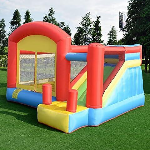 MASCARELLO® Moonwalk Kids Inflatable Bouncy Castle House Bouncer