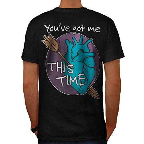 Kostüme Bekam (Sie Bekam Mich Liebe Valentine Liebe Hurts Herren S T-shirt Zurück |)