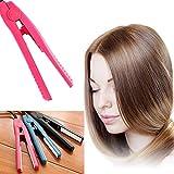Mini Portable Hair Straighter Automatic Wet Hair Straightener Curler Splint Non Slip Design Hair Styling Tools