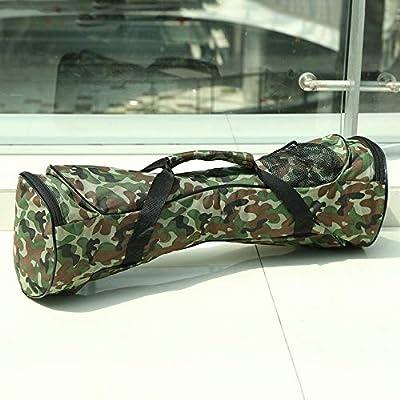 Goldyqin 6.5inch Portable Self Balancing Elektroroller Tragetasche 2 Räder Auto Balancing Hoverboard Handtasche wasserdichte Aufbewahrungstasche - Camouflage 6.5 inch