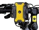 GVDV Support guidon vélo VTT pour Téléphone portable smartphone et GPS, Jaune et...