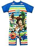 Disney Costume da Bagno per Ragazzi Toy Story Blu 4-5 Anni