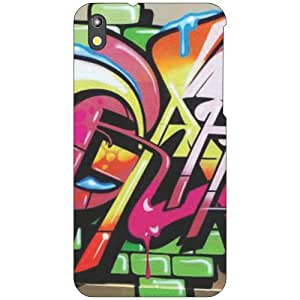 HTC Desire 816 tooned Phone Cover - Matte Finish Phone Cover