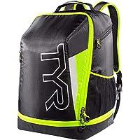 TYR  Apex - Mochila bolsa de triatlón, Unisex , Negro/Amarillo