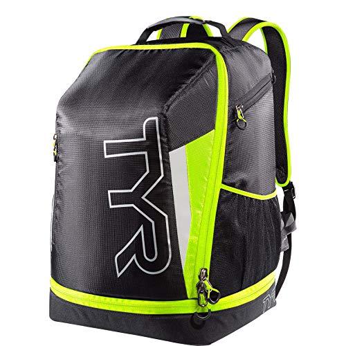 Tyr Triathlon Backpack black/yellow fluo -