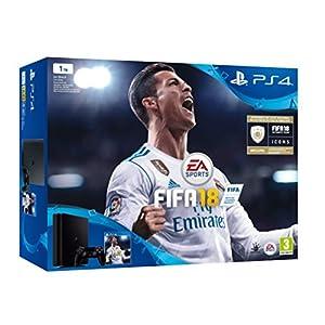 Consola Sony PlayStation 4 (PS4) de 1 TB + FIFA 18