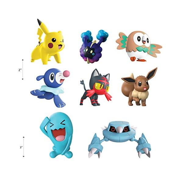 Pokemon 96302 Battle 8 Figura, Multicolor, 2/3 Pulgadas 4