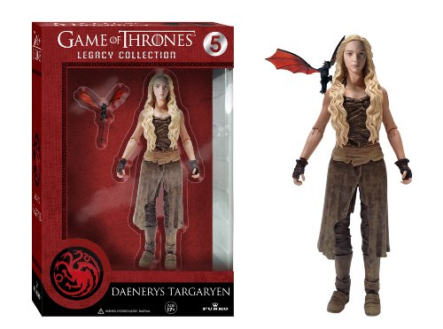 Funko 3907 Game of Thrones Toy - Daenerys Targaryen Deluxe Collectable Action Figure 1