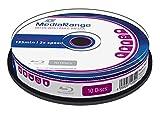 MediaRange MR501 - BD-RE Blu-ray Disc 25GB 2x Speed, wiederbeschreibbar, 10 Stück