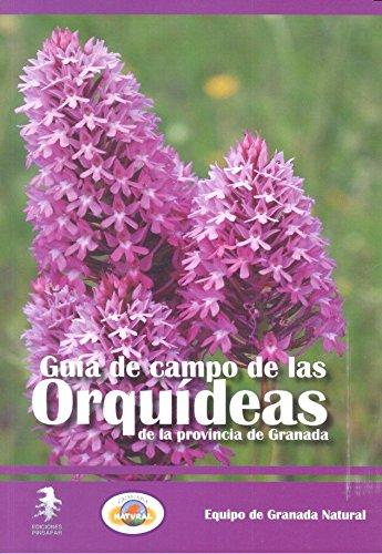 Portada del libro Guía de campo de las orquídeas de la provincia de Granada (Flora Baetica)