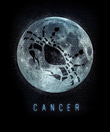 -- Sternzeichen Krebs -- Girls T-Shirt auch im Unisex Schnitt Schwarz