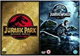 Jurassic Park 1, 2, 3 and 4 Complete DVD Collection : Jurassic Park / The Lost World - Jurassic Park / Jurassic Park III / Jurassic World + Extras + Bonus features : Deleted Scenes by Chris Pratt