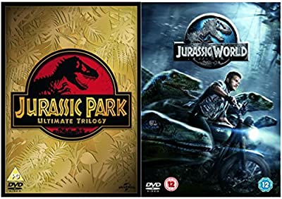 Jurassic Park 1, 2, 3 and 4 Complete DVD Collection : Jurassic Park / The Lost World - Jurassic Park / Jurassic Park III / Jura