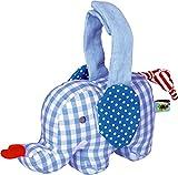 Spiegelburg 13960 Mini-Spieluhr Elefant BabyGlück, hellblau