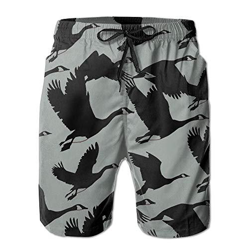 2e47020a23 Pillowcase shop GUOFULIN Duck Pattern Men's Swim Trunks Shorts Beach Pants  with Pockets XX-Large