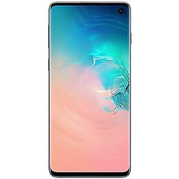 Samsung Galaxy S10 - Smartphone portable débloqué 4G (Ecran : 6,1 pouces - 128 Go - Double Nano-SIM - Android) - Blanc - Version Française